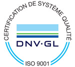 certification iso 9001 dnv